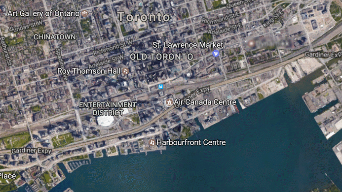 map of toronto near lauren blakey